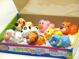 Wholesale Department of music small naughty animal fun animal cartoon friction car style toy