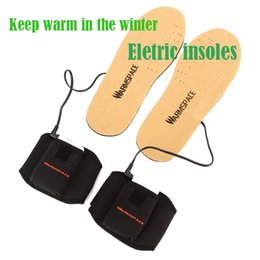 Wholesale Promotion FOOT Warmer USB Heated insoles waterproof electric heatiing shoes pad with MA thermostat