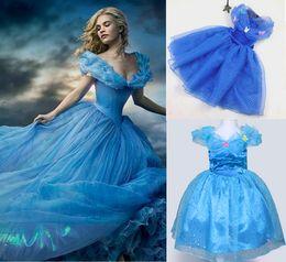 Cinderella Kids DressCinderella Cosplay Costume Girl Princess fancy Dress