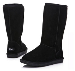 Wholesale 2015 XMAS GIFT High Quality BGG Women s Boots Womens tall boots Boot Snow boots Winter boots With certificate dust bag US size5