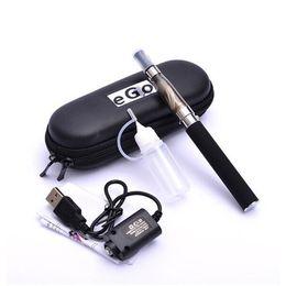 e cigarettes CE4 eGo zipper case single kit CE4 Atomizer Clearomizer ego t 650mah 900mah 1100mah battery electronic cigarette DHL Free