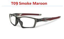 Wholesale , Excellent quality Satin black eyewear crosslink sweep sport eyeglasses frames 20 colors for optical glasses Men OX8031 with box