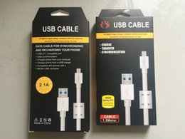 Wholesale 1 M bold Sync Charging Micro USB long usb Cable for Samsung Galaxy Note S4 S6 HTC M9