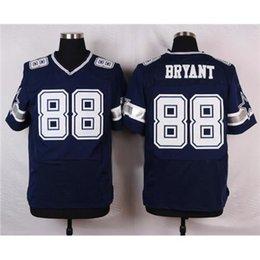Wholesale Dez Bryant Football Jerseys Cheap Football Jerseys Elite Blue Football Wear Stitched Football Shirts Men Football Apparel Cheap Jerseys