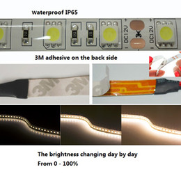 led strip 5050 RGB Warm White 3M adhesive led strip lights IP65 Waterproof 12V DC 5M 300 LED