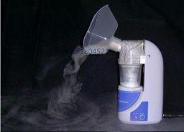 Wholesale 110V V home health care portable nebulizer Portable Ultrasonic Atomizer Household Inhaler for child and adult