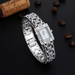 Hot sale Vintage Watch Women Lady's Silver color relojes Royal Rome Special Style Full Stainless Steel Casual Bracelet Watches