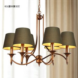 cheap european modern chandelier lighting retro personality living room bedroom dining rooms lamps factory outlet cheap bedroom lighting