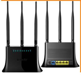 Répéteur sans fil à la maison en Ligne-5 ports 802.11g / b / n Routeur sans fil 300Mbps 3 Antenne Répéteur WIFI Routeur réseau domestique