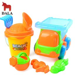 Wholesale Dala toys gothic Large beach toy piece set beach bucket atv swimming toys