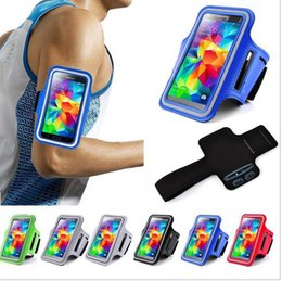 Wholesale S3 Gym Strap - Fashion Phone Bags Luxury Outdoor Sport Running Arm Band Gym Strap Holder Case For Samsung Galaxy S3 S4 S5 cover GYM bag armband