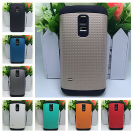Wholesale Slim Armor case Hybrid Dots Dual Color Point hard case shockproof case For Samsung S5 mini phone cases skin cover DHL FREE shippping