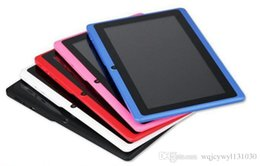 DHL 5X Q88 Dual Core Tablet PC 7 Inch Capacitive Screen Android 4.2 AllWinner A23 512MB RAM 4GB TA2