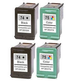 Wholesale 4 PK X for HP Black Color Printer Ink Cartridge for HP Deskjet D4260