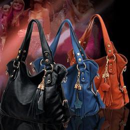 Wholesale-Casual PU Leather bags michael handbags women bags Fringed PU Leather handbags brand women's bags sale shoulder messenger bag