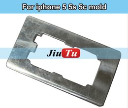Wholesale LCD Aluminium Alignment Mold for iPhone s Precise Tool for Broken LCD Screen Front Panel Glass Replacement DHL