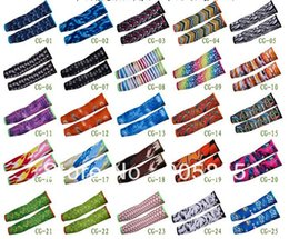 Wholesale Cycling arm warmers cycling sunscreen oversleeve for bikier ATV Motorcycle Assorted Styles