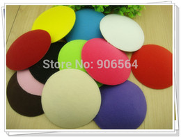 Wholesale many color for chosen CM ROUND fascinator base WITH HAIRPINS mini hat base DIYhair accessories