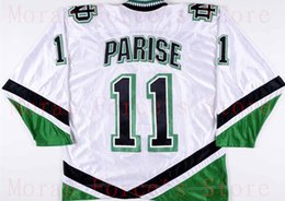 Wholesale Factory Outlet Zach Parise University of North Dakota Fighting Sioux Hockey Jersey Ralph Engelstad Team XXS XL Free Shipi