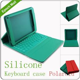 Galaxy tab caja estanca en venta-Al por mayor-Home Utilizando caso de cuero con tapa plegable teclado impermeable de silicona para 7 / 7,7 / 7,89 pulgadas de la tableta, Samsung Galaxy Tab polaroid