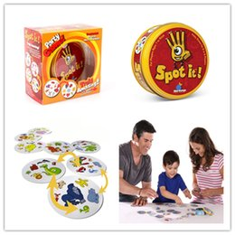 Spot It Popular Christmas Toys Spot It Party Game Award winning game of visual perception for the whole family Popular Board Game