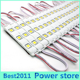 Wholesale 1000pcs X super bright SMD LED Module V Injection Molding module clear lens waterproof IP67