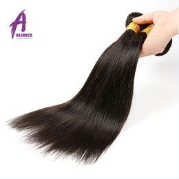 Rosa Hair Products Peruvian Virgin Hair Straight Grade 7A Unprocessed Peruvian Virgin Hair Weave 1 bundle Human Hair Extension