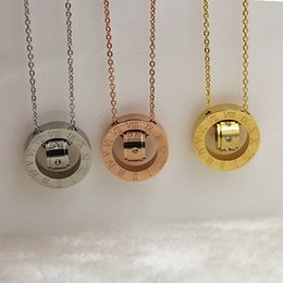 titanium stainless steel Necklace Bar Gold Pendant Necklace, Fashion Monogram Necklace Personalized jewelry necklace women