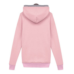 2017 autumn and winter European and American high quality women's wear hooded blouse with top coat and coat jacket