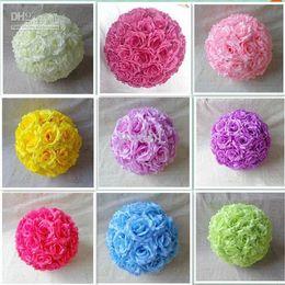 la venta caliente los cm que se besan rose florece la bola para la decoracin del banquete de boda u elige el color bolas decorativas de la