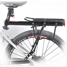 Wholesale Mountain Bike Rear Shelf Single Car Bicycle Rack Shelf Sheeting Sturdy Aluminum Alloy Material Adjustable Length