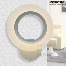 2015 New Arrival Novelty LED Wall Light Fixture Modern White Acrylic Wall Sconces Reading Room Bedroom Beside Lamp Free Shipping