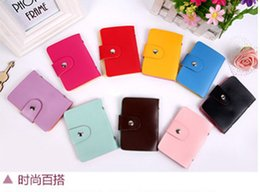 Wholesale The Korean version of multi packet pickup card card bank card bag bag and credit card sets can print factory direct sales