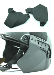 Wholesale Airsoft Tactical Side Cover for Helmet Rail BK for cycling helmet