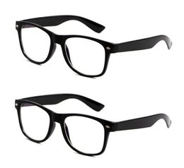 Wholesale-2 Pieces 2015 New Brand Men Women Anti Radiation Glassess Optical Computer Reading Glasses PC Computer Eye Strain Protection