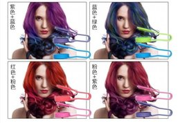 Wholesale Best quality professional crayons for hair one time hair chalk New Designed Temporary Plastic Hair Chalk colors