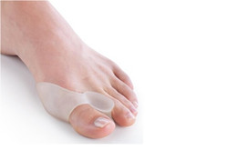 FREE SHIPPING 2 Pair=4pcs Gel Bunion Toe Separator, Eases Foot Pain Foot Hallux Valgus Guard Cushion, Toe spreader of Foot Care Tool