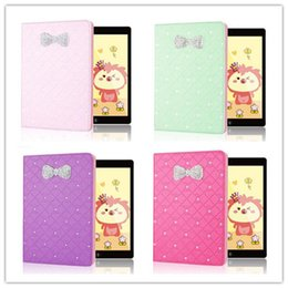 Wholesale Luxury Rhinestone Bling Glitter Flip Leather Stand Case For Apple ipad mini Air Cases Diamond ipadmini Tablet Cute Case Back Cover