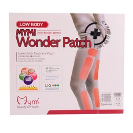 Wholesale Mymi Wonder Slim Patch For Legs And Arm Slimming Products To Lose Weight And Burn Fat Feet Care Anti Cellulite