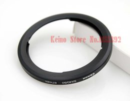 Wholesale amera Photo Lens Adapter Metal Filter Adapter Ring mm Lens Adapter For CAN amp N POWERSHOT SX30 SX40 SX50 HS REPLACEMENT FA DC67A Free