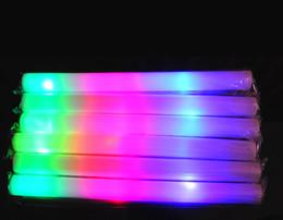 400PCS Led Mousse Mousse Sticks clignotant bâton lumineux Acclamation Glow mousse bâton lumineux Bâtons Festivals lampe Carnaval de Noël Concerts LED à partir de conduit mousse bâton clignotant fabricateur