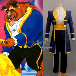 Wholesale New Beauty and the Beast Prince Adam Cosplay Costume Any Size
