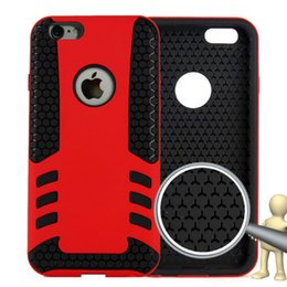 Wholesale Fire Arrow Hybrid Shock Proof Rugged Defender Armor Case Cover for apple iphone For iphone plus for Galaxy Note n910