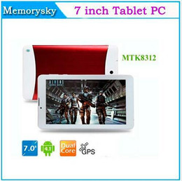 7 inch Phone Call Tablet PC Dual Core HD Screen MTK8312 1.2GHz 3G WCDMA 2G GSM android 4.4 GPS bluetooth Wifi OTG Dual Camera 002292