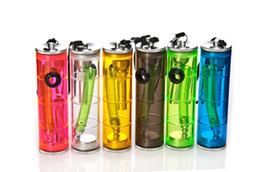 Wholesale Durable Mini Acrylic bong hookah shisha smoking metal pipe glass bong bubblers rolling machine water filter