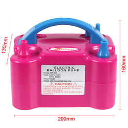 Wholesale Double Hole HT High Voltage AC Inflatable Electric Balloon Pump Air Inflator Machine