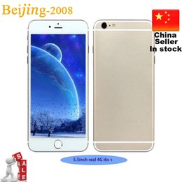 Wholesale Best inch Goophone i6S Plus Phone s Star MTK6735 Quad Core G G G Andorid Smart Phone Single Micro SIM