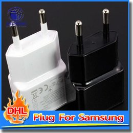 Wholesale USB Power Charger Adapter PC Material EU Plug Wall Travel AC For Samsung Note Mobile Phone Charger