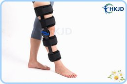 Wholesale CE FDA Approved Adjustable Knee Support Knee Orthosis Hinged ROM Knee Brace Rom Angle Adjustable Hinge Knee Brace