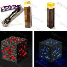Wholesale MCFT Torch Light up Redstone Diamond Ore Original